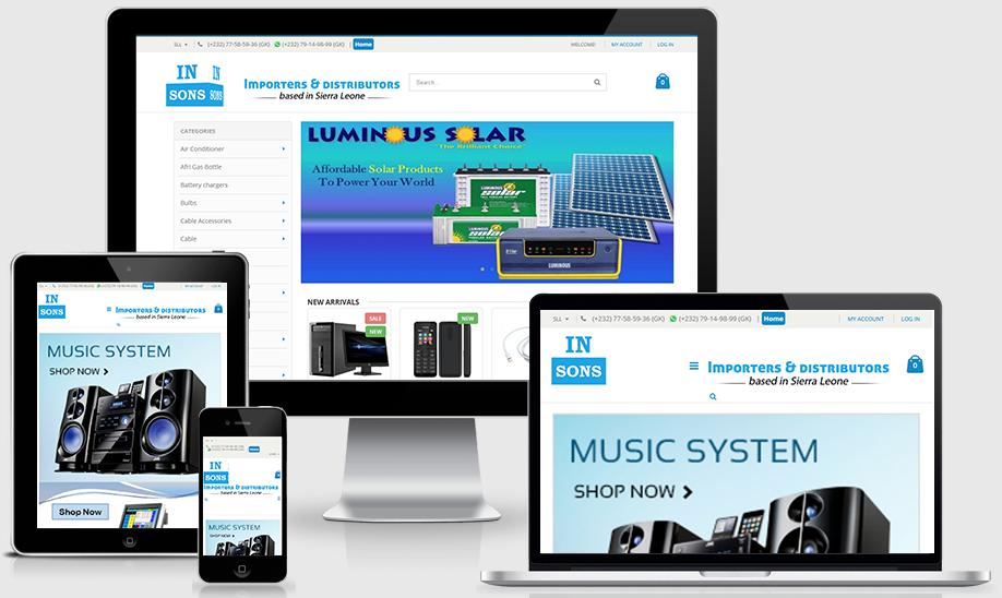 Insons Online Shop, Sierra Leone