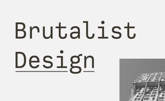 Trend of Brutalism in Web Design